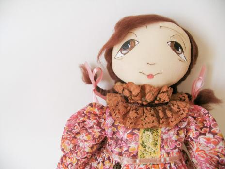 Авторская кукла Агриппина