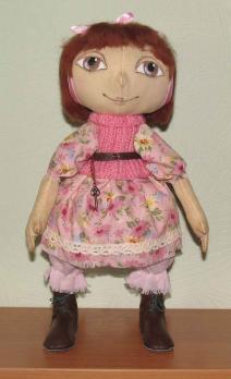 Авторская кукла Гномочка