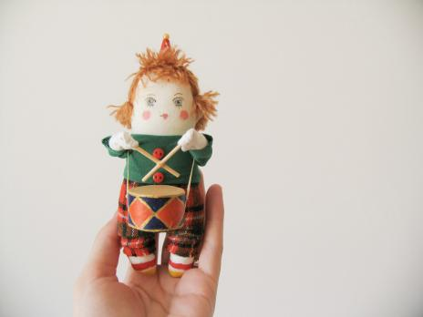 Елочная игрушка «Клоун Тишка»