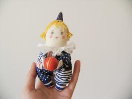 Елочная игрушка «Клоун Ло»