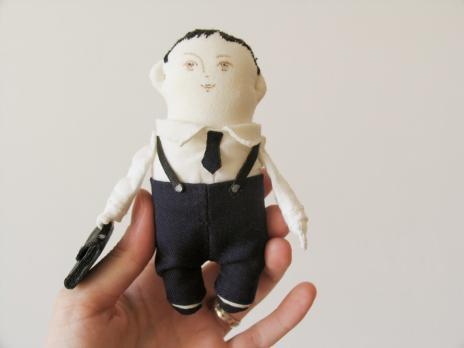 Авторская текстильная кукла «За дело»