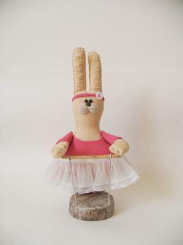Авторская текстильная кукла «Балеринка»