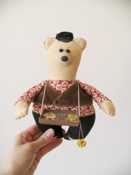 Авторская текстильная кукла «Конфетки, бараночки»
