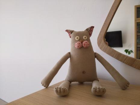 Текстильная кукла «Кот»